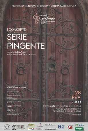 Orquestra leva concerto à Paróquia N. Sra. de Lourdes em Limeira nesta sexta