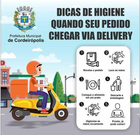 Vai pedir comida sem sair de casa? Confira dicas de higiene para sua segurança e do entregador!
