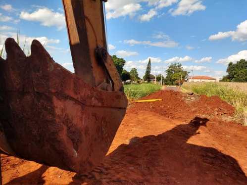 Obras na Rua Luiz Ortolan vão solucionar problemas em dias chuvosos