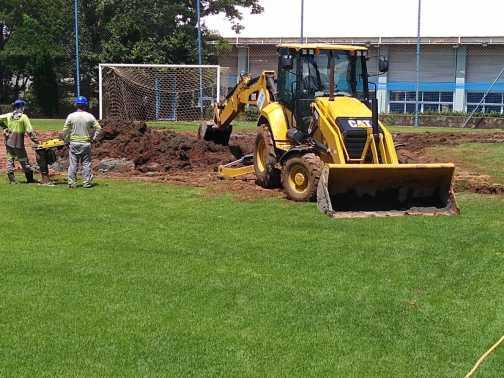Modernização do campo de grama natural do Nosso Clube em Limeira entra em sua fase final