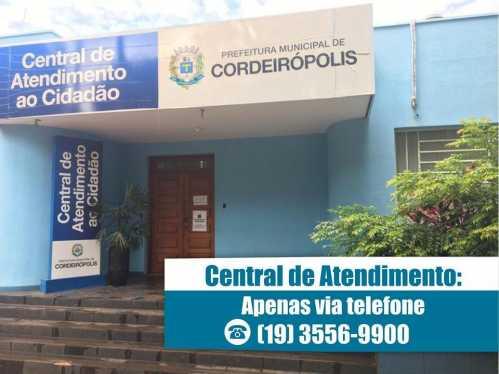 Central de Atendimento em Cordeirópolis oferece assistência à população via telefone