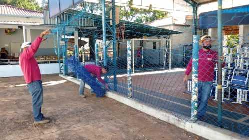 Reforma da Escola Amália em Cordeirópolis segue a todo vapor
