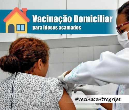 Prefeitura de Cordeirópolis realiza vacinação contra influenza em domicílio para idosos acamados