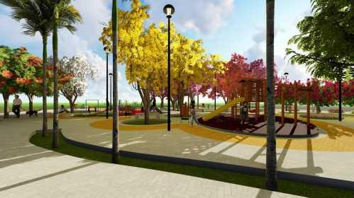 Nova Praça de lazer será construída no Jardim São Francisco em Cordeirópolis