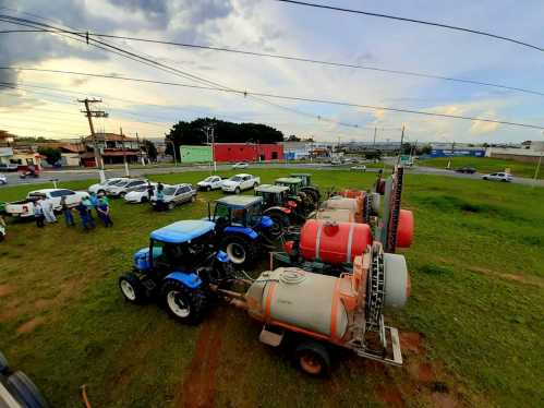 Prefeitura de Limeira começa desinfecção em áreas do município