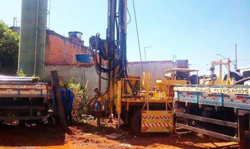 Bairro Engenho Velho em Cordeirópolis recebe poço semi artesiano para captação de água