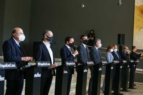 Doria anuncia subdivisões da Grande SP em plano de retomada da economia