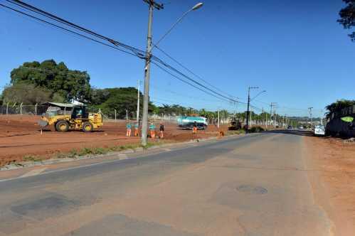 Sistema de drenagem na Guilherme Dibbern em Limeira entra na reta final