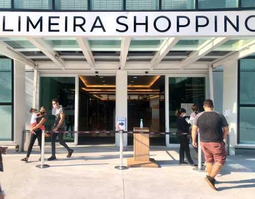 Limeira Shopping reabre com segurança ao público