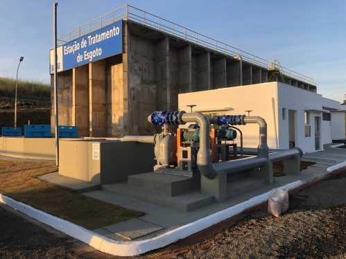 Cordeirópolis inaugura Estação de Tratamento de Esgoto
