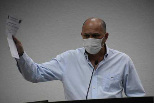 Diretor de Segurança usa Tribuna Livre para explanar sobre violência doméstica durante pandemia