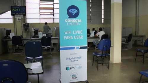 Espaços públicos de Limeira recebem internet gratuita