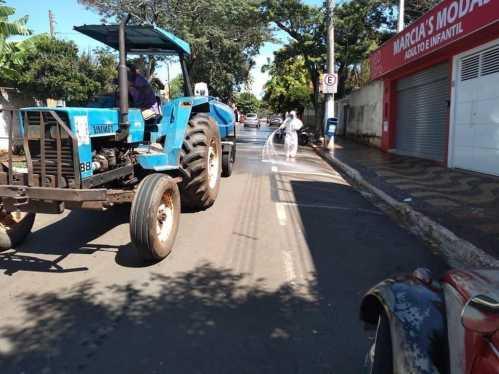 Prefeitura fará desinfecção em todas as ruas de Cordeirópolis