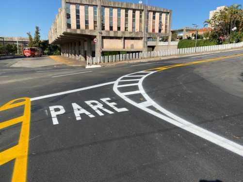 Prefeitura de Limeira reforça sinalização horizontal e vertical de vias