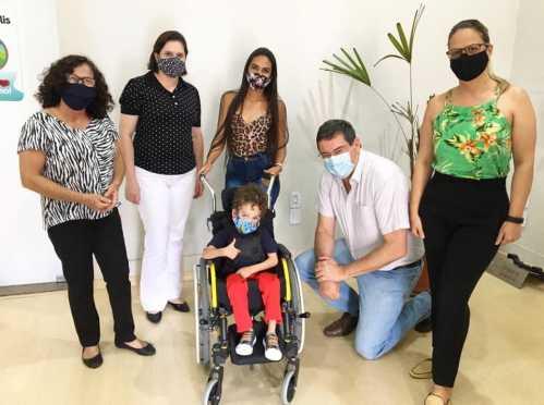 Fundo Social de Cordeirópolis oferece novas possibilidades à João Victor