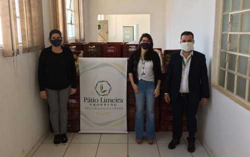 Pátio Limeira Shopping e Oba Hortifruti doam 5 toneladas de alimentos ao Fundo Social de Limeira