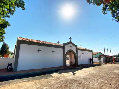 Revitalização do cemitério de Cascalho