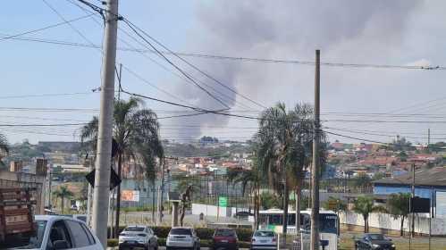 Fumaça de queimadas em Cordeirópolis invade Limeira
