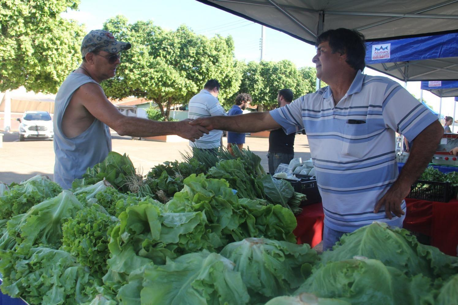 A tradicional Feira do Agricultor está de volta em Cordeirópolis
