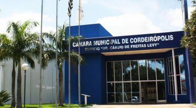 Câmara de Cordeirópolis reabrirá ao público com restrições de distanciamento