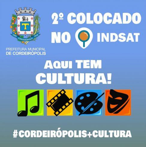 Cultura de Cordeirópolis está entre as melhores do Aglomerado Urbano de Piracicaba