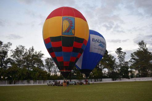 2ª Copa Cordeirópolis de Balonismo: Começou o festival de cores no céu de Cordeirópolis