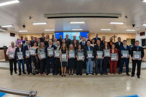 Vice-prefeito de Limeira participa de homenagem a professores universitários