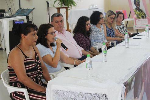 Mais de 200 pessoas participam do 4° Fórum de Enfrentamento à Violência Contra a Mulher