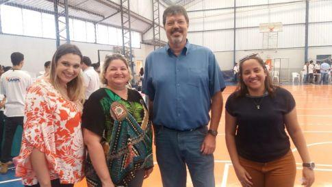 Secretário prestigia 2ª Feira de Empreendedorismo do CAMPL em Limeira