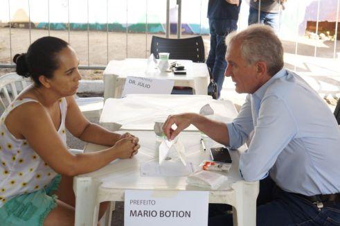 Prefeito no Bairro em Limeira atende região do Belinha Ometto