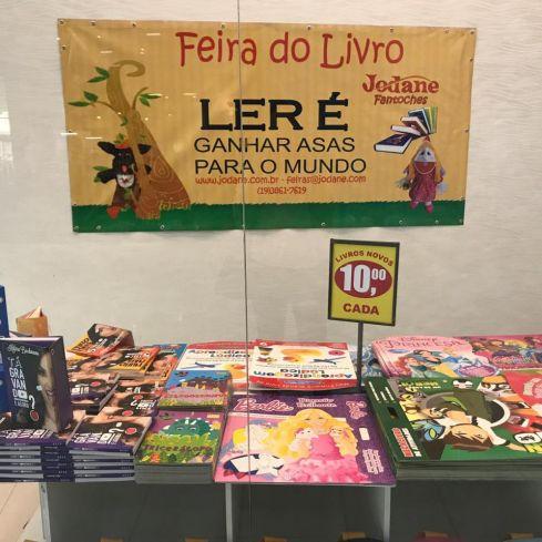 Shopping Nações em Limeira recebe feira do livro neste final de semana