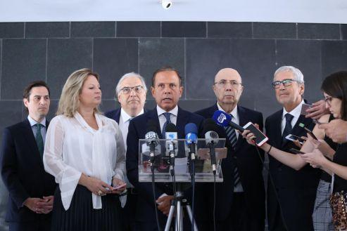 Governo de SP anuncia em Brasília grandes projetos de Infraestrutura para o Estado