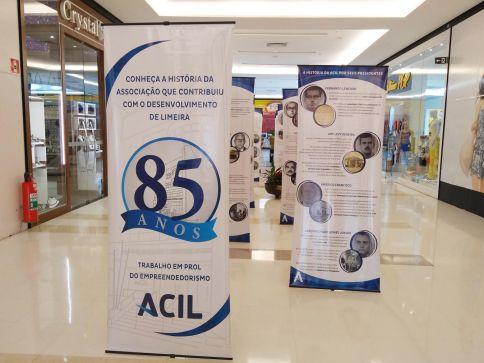 Exposição itinerante da ACIL chega ao Shopping Center Limeira