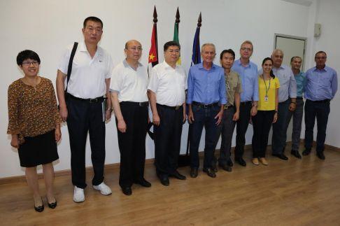 Prefeito de Limeira recebe Comitiva Chinesa