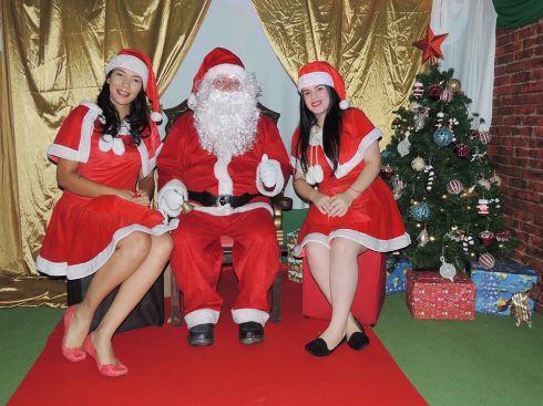 Mais de 9 mil crianças passaram pela Casinha do Papai Noel em dezembro