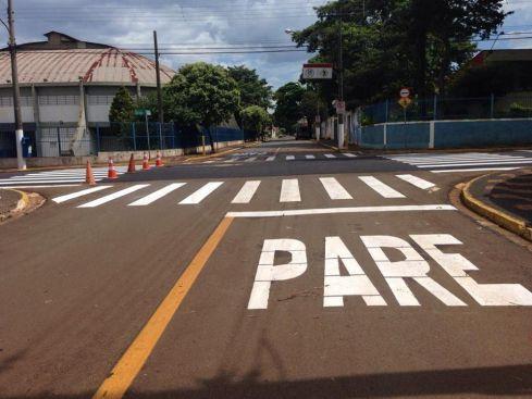 Bairros de Cordeirópolis recebem melhorias na sinalização de trânsito