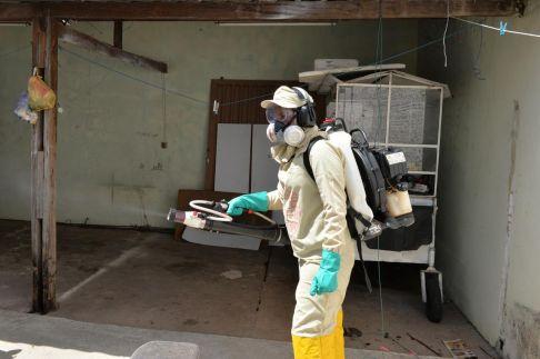 Nebulização é estratégia para bloquear transmissão da dengue em áreas pontuais de Limeira