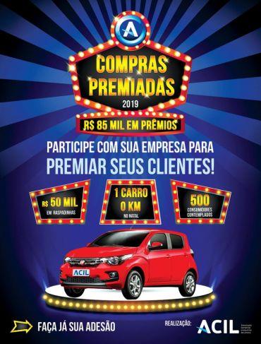 Compras Premiadas 2019 em Limeira irá distribuir R$ 85 mil em prêmios