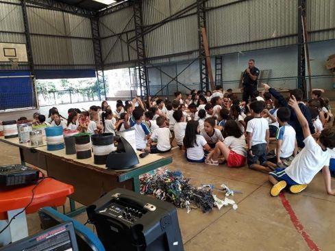 Guarda Municipal de Cordeirópolis faz campanha em escolas para coibir o uso de cerol