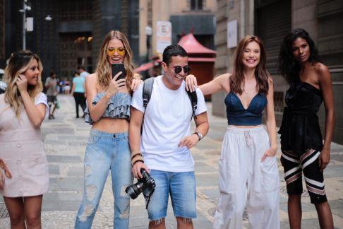 Emerson Lima incentiva a arte pelas ruas de São Paulo com celebridades do mundo fashion