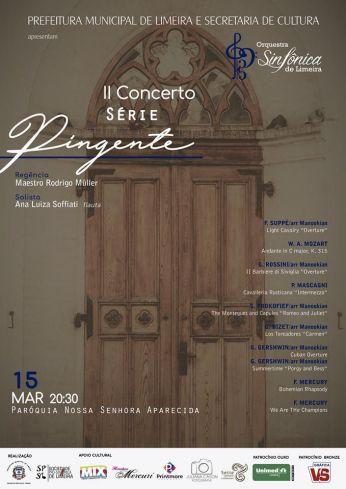 Orquestra Sinfônica de Limeira apresenta segundo Concerto da Série Pingente