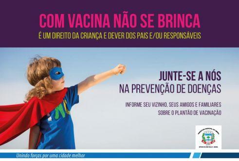 """Jd. Planalto em Limeira recebe neste sábado o """"Plantão de Vacinação"""""""