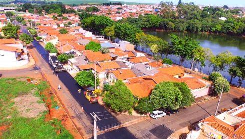 Recapeamento já muda visual das ruas do bairro Jardim Progresso em Cordeirópolis