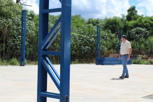 Prefeitura constrói barracão de reciclagem em Cordeirópolis