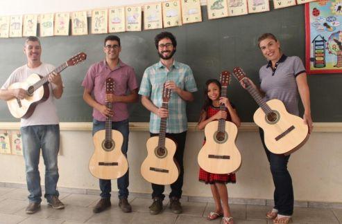 Escola de música de Cordeirópolis começa a receber novos instrumentos