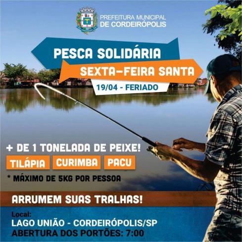 Dia da Inclusão e pesca comunitária ocorrem nesta semana no Lago União
