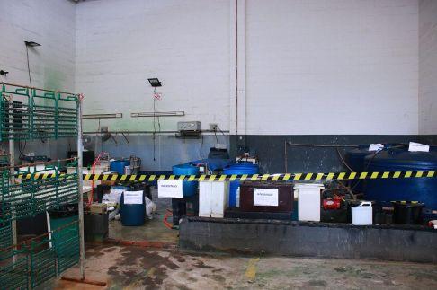 Prefeitura de Limeira interdita empresa clandestina de galvanoplastia