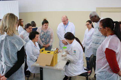 Profissionais de Limeira e região concluem capacitação sobre Testes Rápidos de ISTs