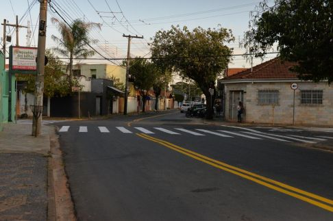 Prefeitura de Limeira reforça sinalização em ruas da cidade