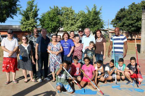 Prefeitura de Limeira, em parceria com a comunidade, inicia revitalização de quadra